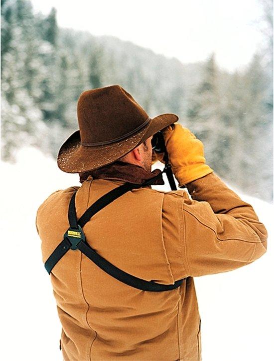 Bushnell schouder harnas - geschikt voor verrekijker