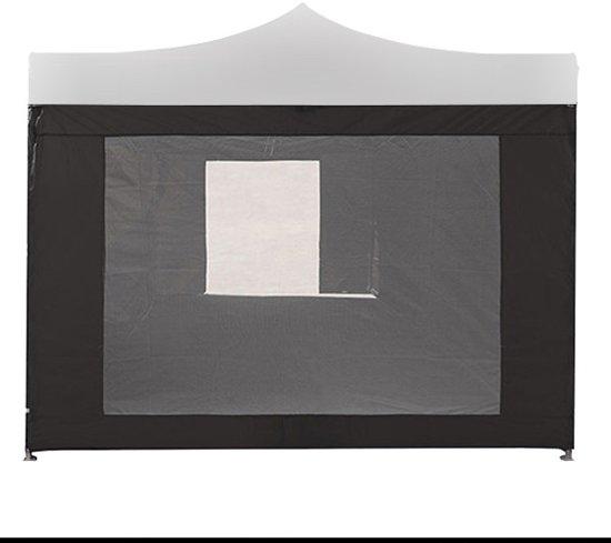 Bolcom Horrengaas 2x3 Meter Zwartvoor Staal Frame