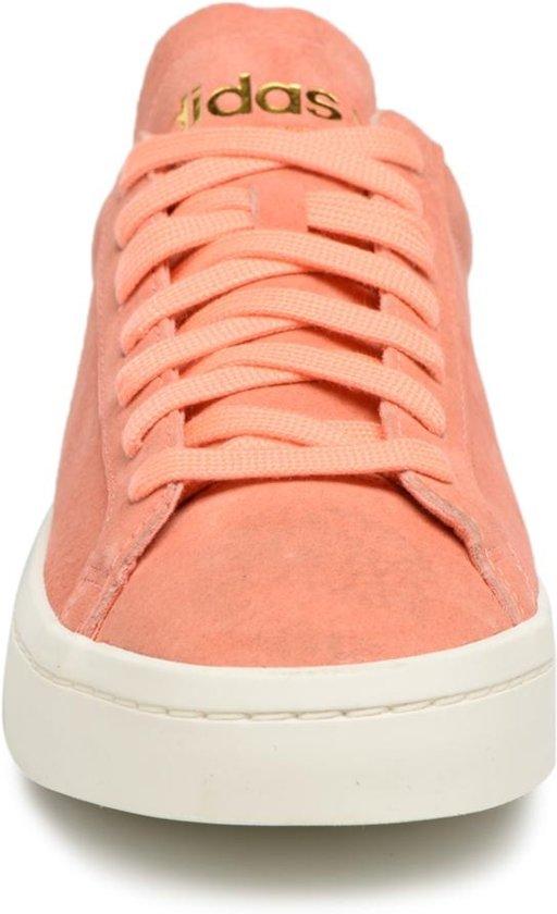 adidas sneakers Court Vantage dames oranje maat 36 23