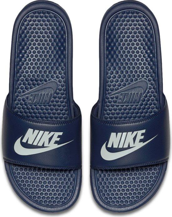 Slippers Nike Benassi Jdi Blauw 46 Unisex Maat EEFqp