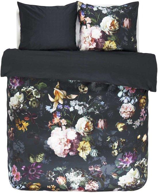 Essenza Fleur - Dekbedovertrek - Lits-jumeaux - 260x200/220 cm + 2 kussenslopen 60x70 cm - Nightblue