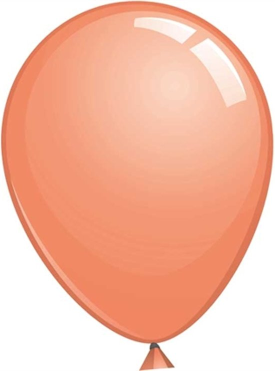 Topballon zalm (Ø91cm, 6st)
