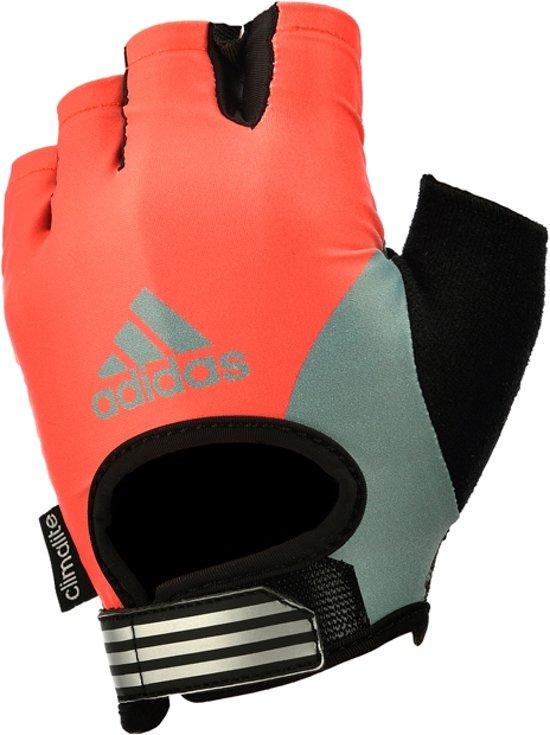 Fitness handschoenen Red Sunrise Adidas dames L