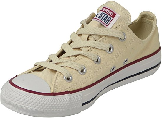 All Star Natural Laag Sneakers Converse White U5df6n0Ux