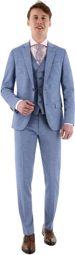 3-delig kostuum lichtblauw, maat 106