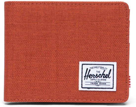 Herschel Supply Co. Roy + Coin Portemonnee - RFID - Picante Crosshatch