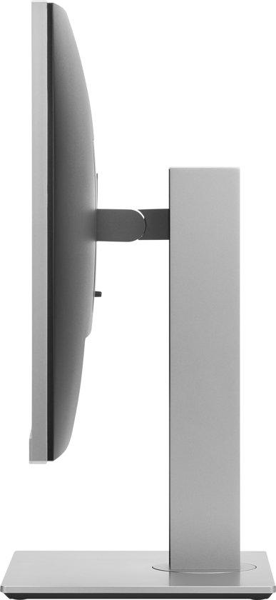 HP EliteDisplay E243 23.8'' Full HD LED Flat Zwart, Zilver computer monitor