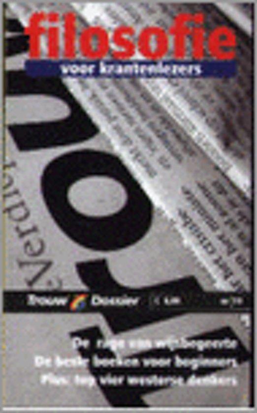 Filosofie Voor Krantenlezers - Onbekend pdf epub