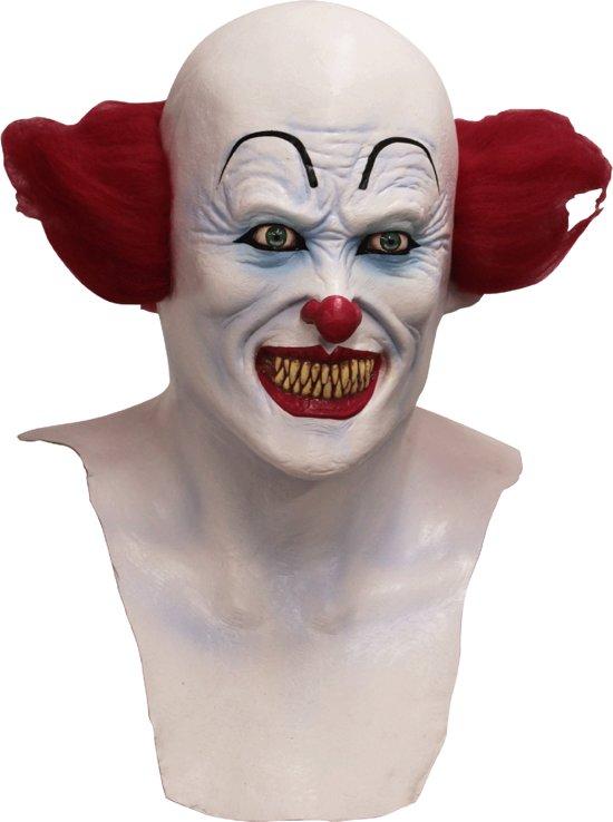Duivels clownsmasker voor volwassenen - Verkleedmasker