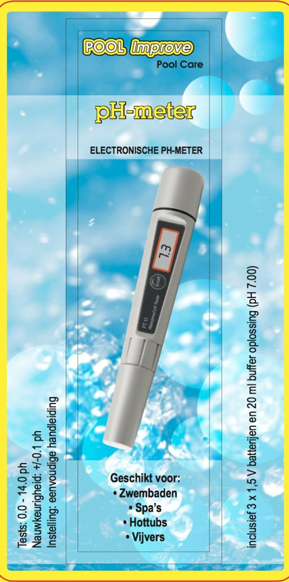 Pool Improve Digitale pH-meter