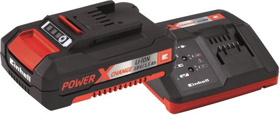 Einhell Power X-Change Starter Kit 18 V / 1500 mAh - Inclusief 1x accu & 1x lader