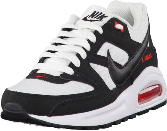 Nike Meisjes Sneakers Air Max Command Flex (gs) Wit Maat 35,5