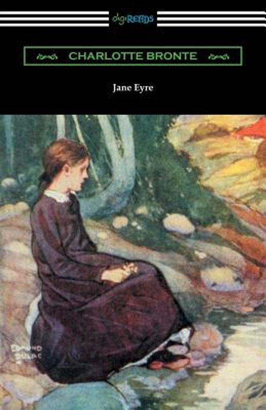 Boek cover Jane Eyre (with an Introduction by May Sinclair) van Charlotte Bronte (Paperback)