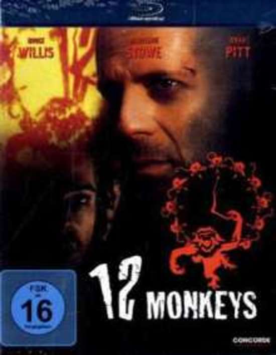DVD cover van 12 Monkeys (Blu-ray)