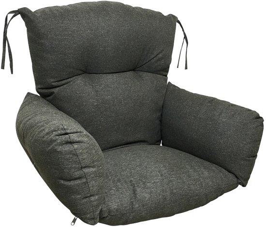 Hoe Maak Je Een Hangstoel.Bol Com Luxe Hangstoelkussen Voor In Uw Hangstoel Of Eggchair