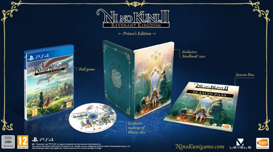 Ni No Kuni II: Revenant Kingdom - Prince's Edition - PS4