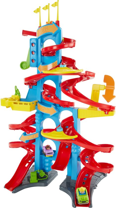 Fisher-Price Little People Om-de-Beurt Racebaan