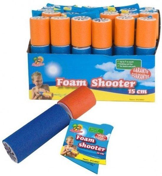 20x stuks waterpistolen van foam 15 cm