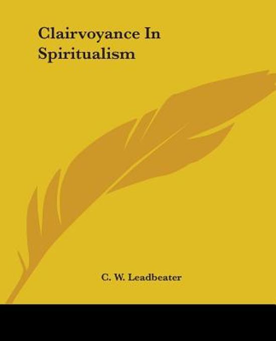 Clairvoyance in Spiritualism