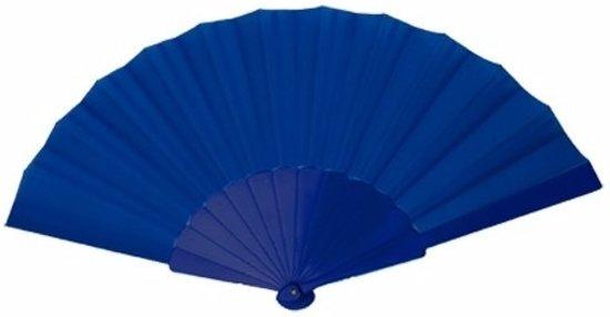 Spaanse Handwaaier donkerblauw 23 cm