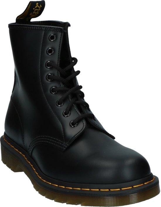 Maat Black Smooth Martens Heren 11822006 Zwart;zwarte 48 Stoer Bottines Dr aUwqBO7