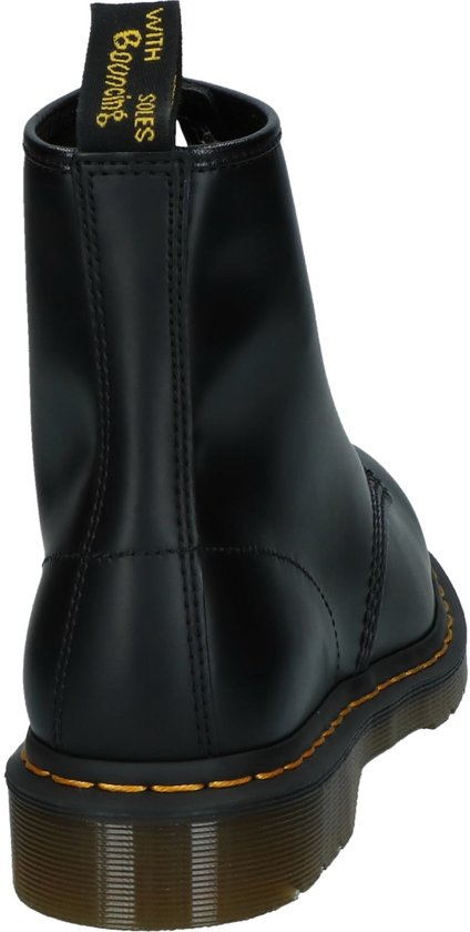 Dr 11822006 Zwart;zwarte Black Martens Maat Smooth Stoer Bottines 48 Heren f65fwqrSx