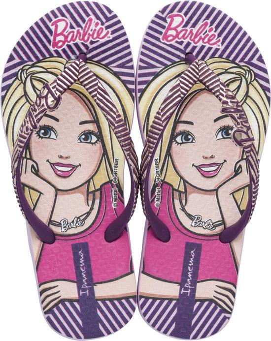 Ipanema Barbie Style Kids Slippers - Purple - Maat 27/28