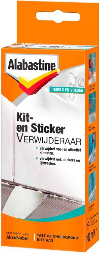 Alabastine Kit&Sticker Verwijderaar 100Ml