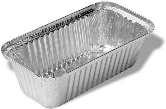 Aluminium wegwerp bak 1L - 30stk.