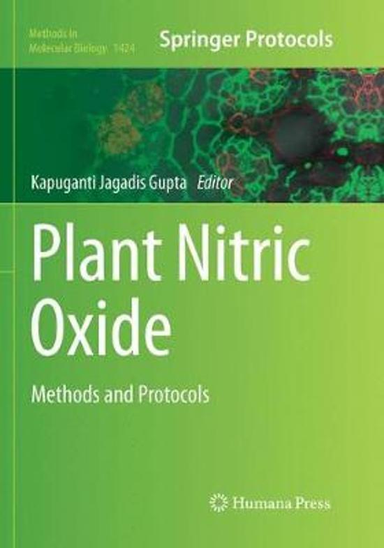 Plant Nitric Oxide