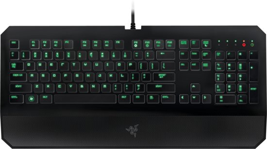 Razer DeathStalker Expert Membraam Qwerty Gaming Toetsenbord - PC + MAC