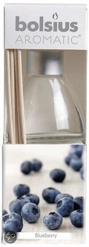 Bolsius Blueberry - Geurstokjes - 45ml (per 4 stuks)