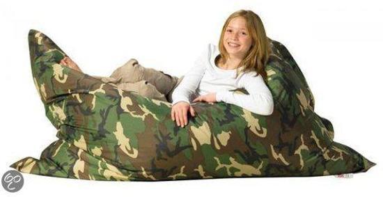 Sit Joy Zitzak Camouflage.Bol Com Sit Joy Basic Zitzak 165x135 Cm Nylon