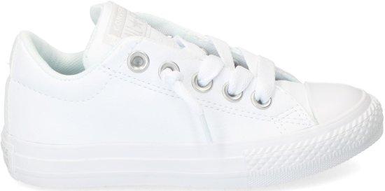 aba3f6b105c Converse - Ch As Street Slip - Lage sneakers - Jongens - Maat 33 - Wit