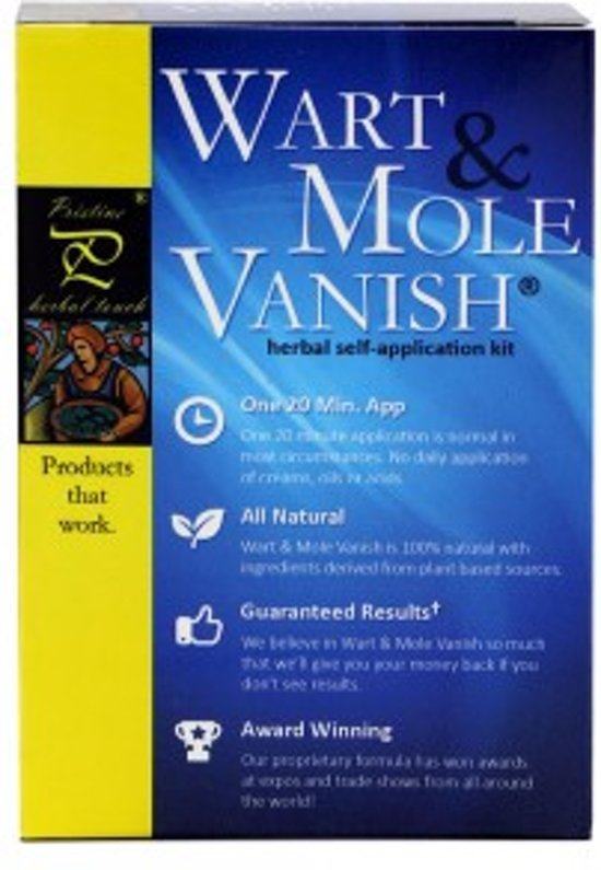 Wart & Mole Kit - Complete Kit voor Wratten, Moedervlekken en Huidtags