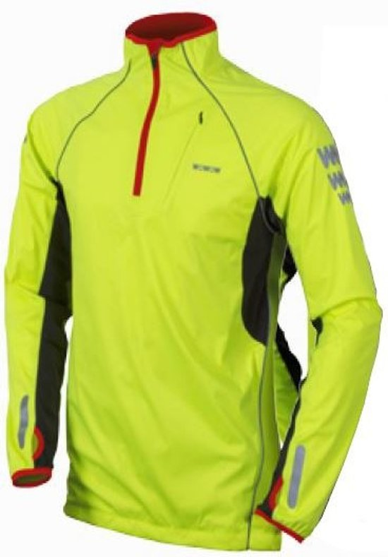 Wowow Thermo-shirt Fluorgeel Reflecterende Delen Maat S