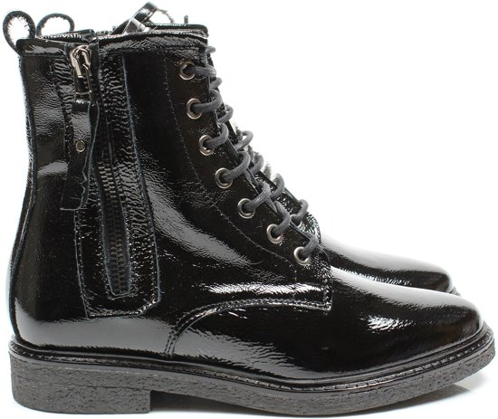 Elisir 204/07 veter boots - zwart / combi, ,38 / 5