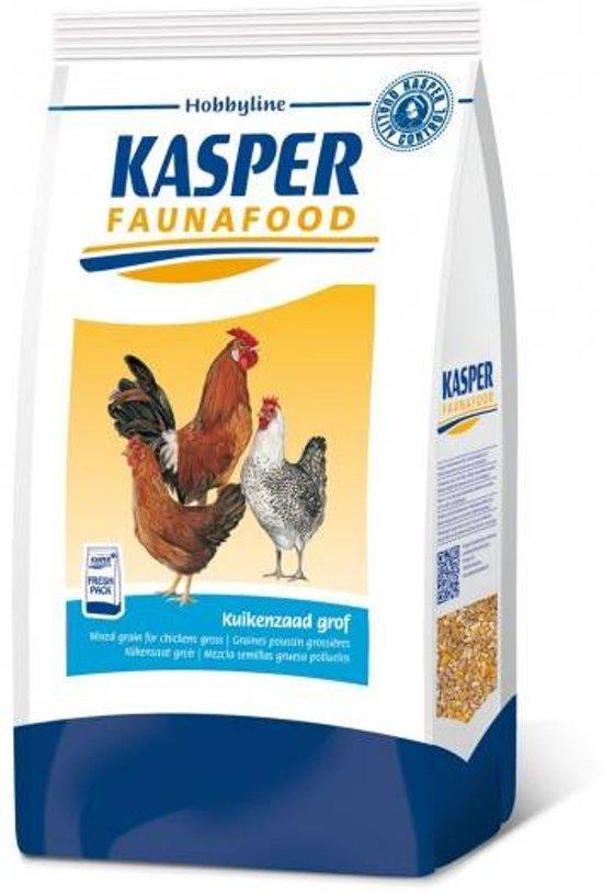 Kasper Faunafood Hobbyline Kuikenzaad Grof - Kippenvoer - 4 kg