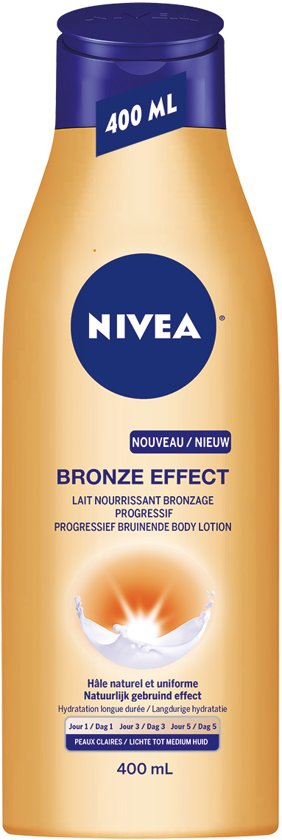 NIVEA Bronze Effect Body Lotion - Lichte tot Medium Huid - 400 ml