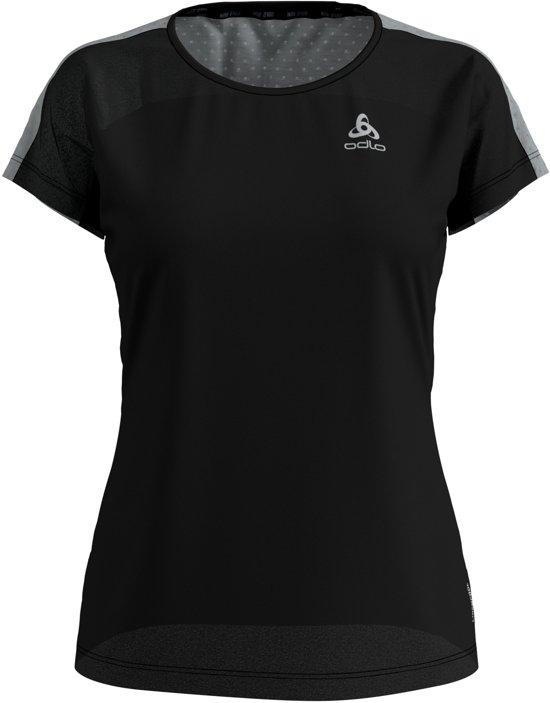 Odlo Bl Top Crew Neck S/S Millennium Linencool Sportshirt Dames - Black