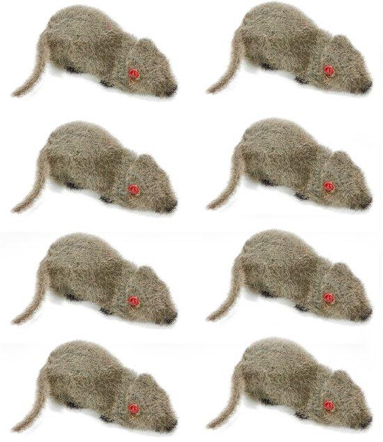 Set van 8 halloween muizen - Feestdecoratievoorwerp