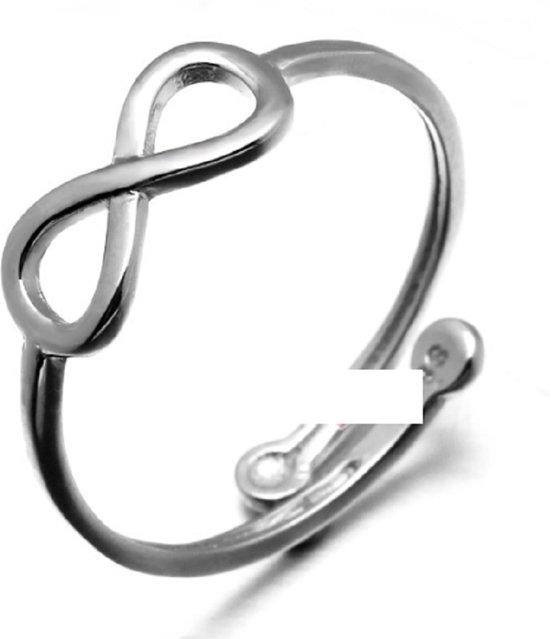 Infinity teenring- verstelbaar-Charme Bijoux®