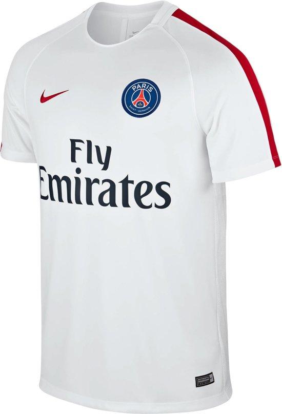Saint Wit Germain Paris Sportshirt Dry Trainingsshirt Maat Heren Nike Mannen Xl EAqa4wv