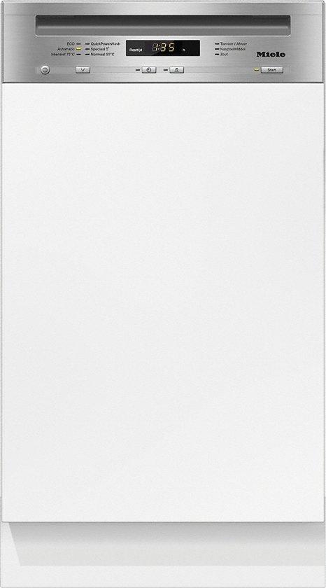 Miele G 4720 SCi CleanSteel - Half geïntegreerde vaatwasser