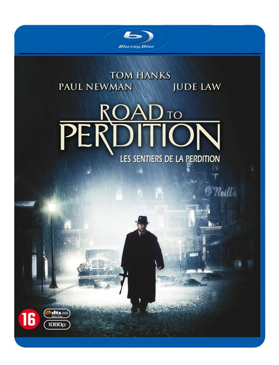 DVD cover van Road To Perdition (Blu-ray)