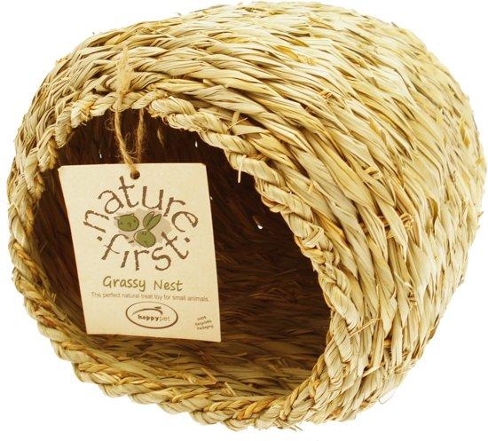 Happy Pet Grassy Nest - 23 x 27 x 20 cm