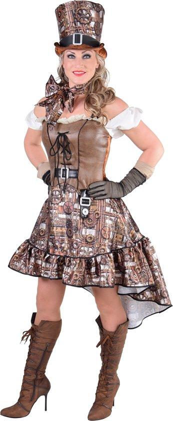 Steampunk jurk | Kostuum voor dames maat S (36)