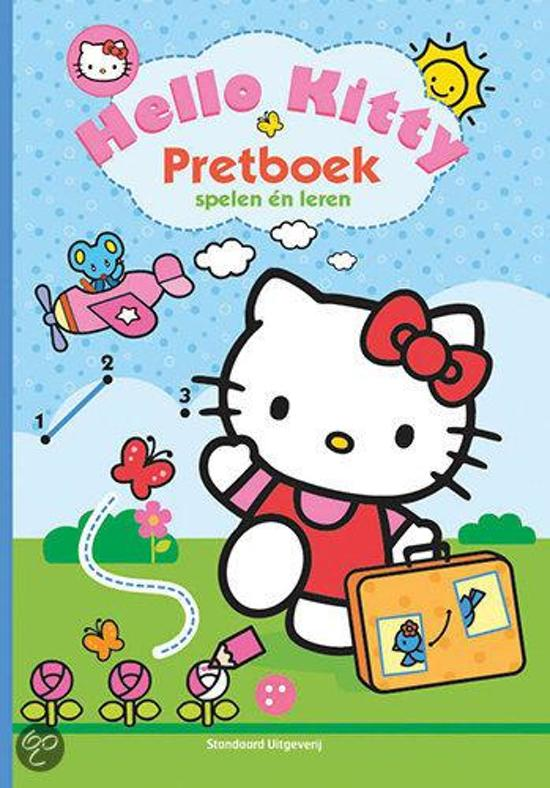 Hello Kitty Pretboek