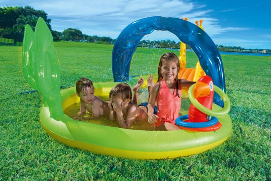 Bestway - Dierentuin speelzwembad - 338cm  x 167cm x 129cm