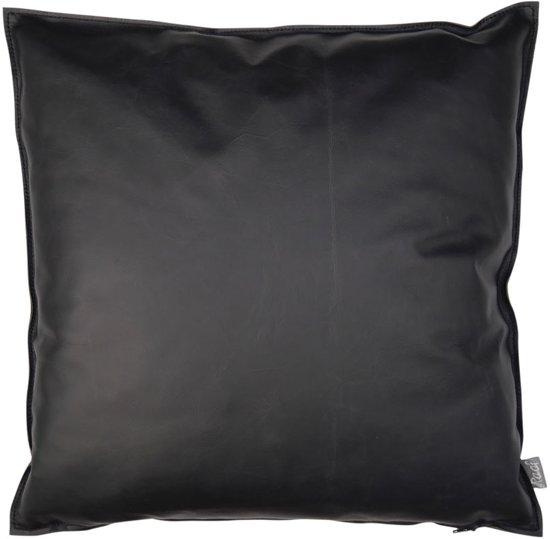 Raaf kussen-hoes echt leder zwart 50x50 cm van € 149,30 voor: